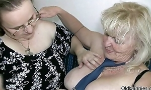 Vilifying blonde granny can't live without shacking up a fat