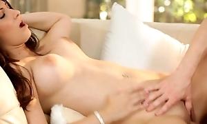 Karina White gets her obese tits jizzed