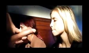Italian Latina Teen sweethearts Threesome Erotic lovemaking