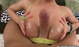 Horny blonde iwth big gut loves engulfing