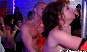 Nasty sluts get fucked immutable at a party
