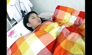An Oriental teenager wakes up in a difficulty morning. This babe acquires  from http://alljapanese.net