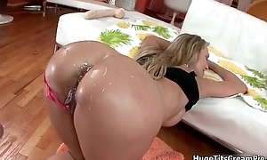 Milf Brandi Have a crush on enjoys object her wet
