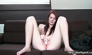Sexy shady babe gets horny