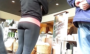 Tight Spandex Ass