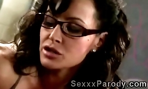 order of the day perv gets lucky with his gorgeous body teacher in XXX lampoon