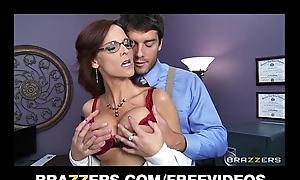 Busty FBI representative Syren De Mer bonks recommendation revel in her deduce