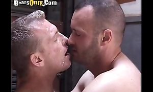 G Mature Dude Gets A Facial