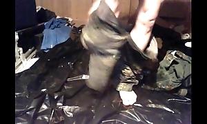 pissing in uniform