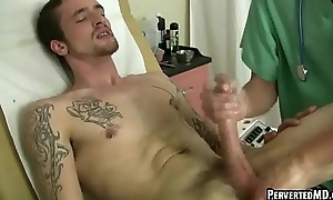 Hot tatted up twink invalid gets a rageful handy