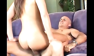 Sexy Brunette With Perfect Body Gets Screwed