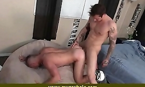 Two hot young men fucking 19