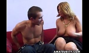 Busty dabbler Milf anal hardcore with spunk fountain