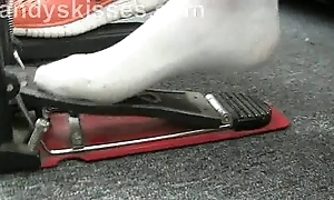 Pedal Pumping Foot Orgy