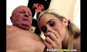 Grandpa kwows despite that to please a pussy