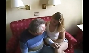 Old man gets hot pussy action /99dates