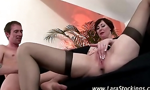 Watch mature stockings slut takes eternal locate
