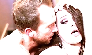 Busty Young Housewife Loves Alongside Besom and Fuck