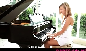 Jessie Rogers - The Piano Lesson www.BABESvids.NET