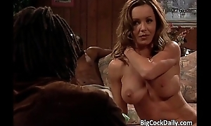 Awesome flaxen-haired MILF with amazing convention