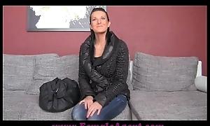 FemaleAgent Up close and unheard-of