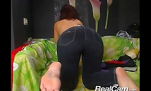 Ancient mature lady does private cam show
