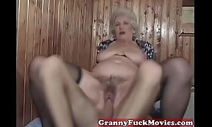 a oversexed granny fuckbitch