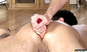 Lucas Davidson gets anally abused and pissed in!