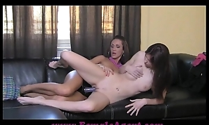 FemaleAgent Strap on admiration