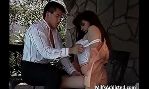 Amazing slut with respect to beautiful long whisker