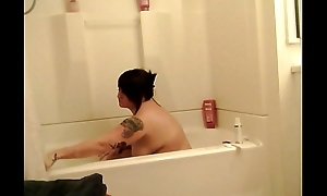 BathTime be fitting of Daddy'_s Viewing Pleasure Live On Livecam  www.69SexLive.com