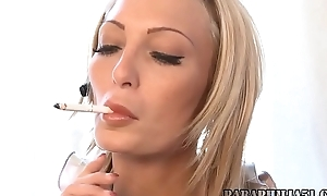 Sexy Smoking Giantess