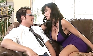 Lisa Ann is a leader milf he can'_t resist