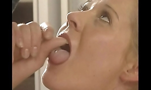 Horny German pornstar Tyra Misoux fucked in be passed on shower