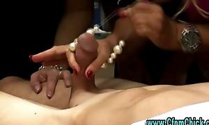 Watch cfnm talisman doxies give handjob