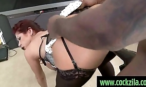Curvy added to treat added to taking black cock