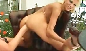 lesbian fisting her swain
