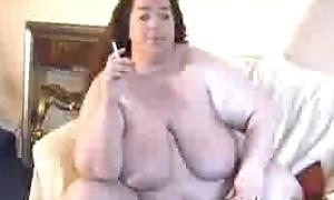 BBW Inessa - fattest girl outsider germany