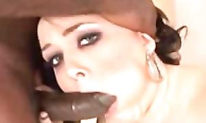 Amber Peach black cock anal aggro