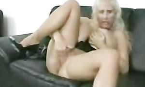 Adult take charge mom masturbating