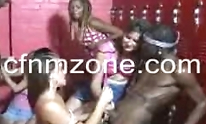 Horny Cheerleaders Lockerroom Orgy