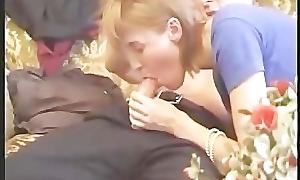 Pregnant group anal scene