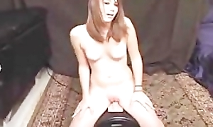 18 year Redhead Old First Time Using Vibrator