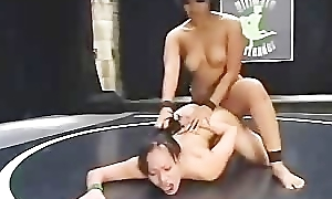 dragon Lily Strap-on fucks China as her prize