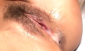 Exotic blonde girl with natural tits gets properly fucked in threesome