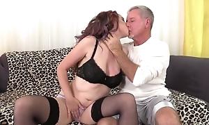 Zoe Matthews sucks and fucks lover's cock until it explodes