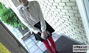 Lovely Asian teen not far from a tight wet pussy comes give up for a hard fuck