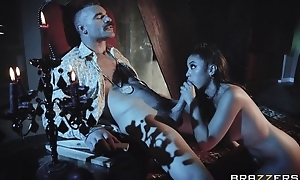 Hot vampire chick gets eaten out plus properly fucked