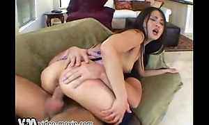 Asian Pornstar Mad about Her Cum-hole