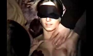 Anja blindfold fuck